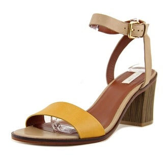 Cole Haan Cambon Women  Open Toe Leather Tan Sandals