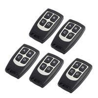 5pcs Black 100 Meters 4 Keys Digital Remote Controller for Signal Control