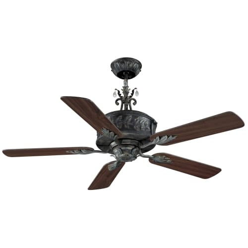 "Ellington Fans ANT54AV5WCR Traditional 54"" 5 Blade Indoor Ceiling Fan - Blades Included"
