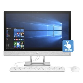 "Refurbished - HP Pavilion 24-R019 All-in-One 24"" Touch i5-7400T 2.40GHz 12GB RAM 2TB WIN10"