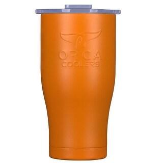 Orca ORCCHA27OR/WH Drinkware Vacuum Mugs, Orange/White, 27 OZ