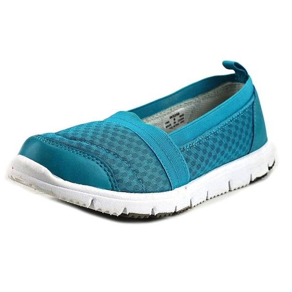 Propet Travel Walker Slip-On Elite 2E Round Toe Synthetic Loafer