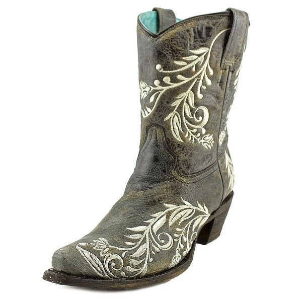 Corral A3192   Square Toe Leather  Western Boot
