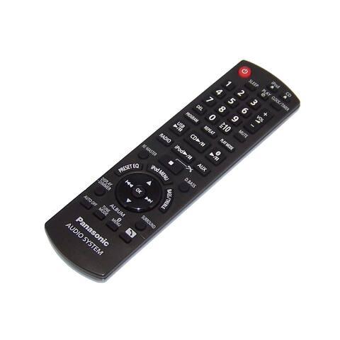 NEW OEM Panasonic Remote Control Shipped With SC-HC40 , SCHC40, SA-HC40, SAHC40
