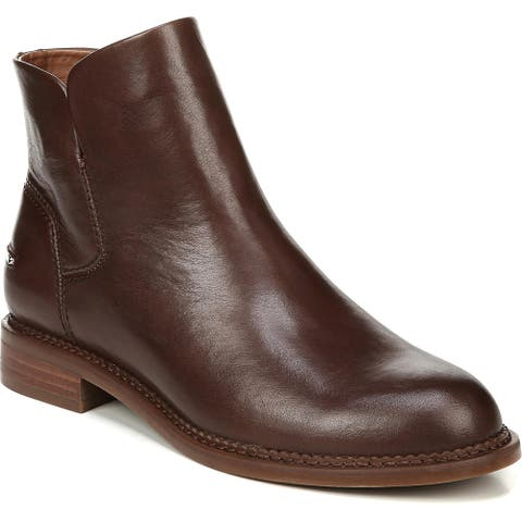 Franco Sarto Womens Happily Ankle Boots Comfort Insole Low Heel