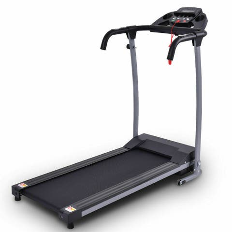 Gymax Folding Electric Treadmill Running Fitness Machine 800W