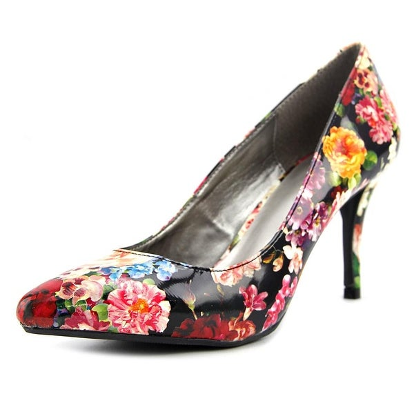 143 Girl Owanda Women Pointed Toe Synthetic Multi Color Heels