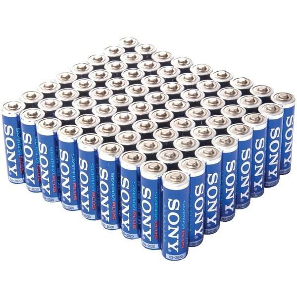 Sony Saa-72Bulk Stamina(R) Plus Alkaline Bulk Batteries (Aa; 72 Pk)