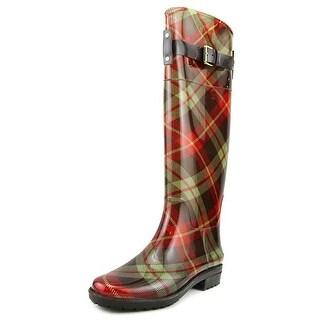 Lauren Ralph Lauren Rossalyn Women  Round Toe Synthetic Red Rain Boot
