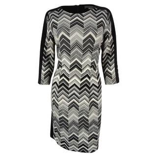 Vince Camuto Women's 3/4 Sleeve Sheath Dress