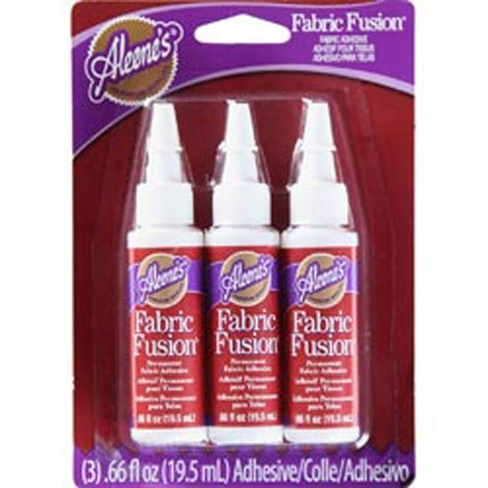 8e65626dc4a1 Shop .66Oz - Aleene s Fabric Fusion Permanent Adhesive 3 Pkg - Free  Shipping On Orders Over  45 - Overstock.com - 20073876