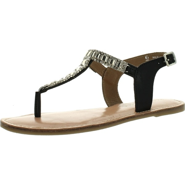 Very Volatile Womens Iced Out Dress Sandals