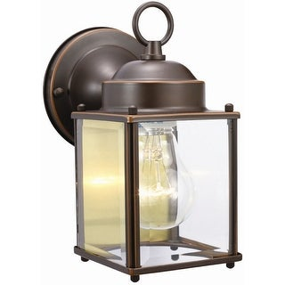 Design House 506576 Coach Outdoor Downlight, Oil Rubbed Bronze