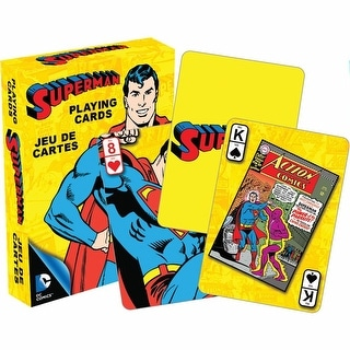 Retro Superman Playing Cards