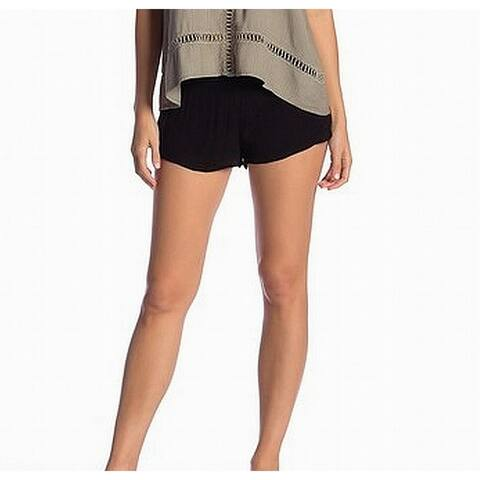 O'Neill Womens Shorts Small Elle Solid Stretch Pull-On