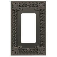 Atlas Homewares VSR Venetian Single Rocker Switch Plate