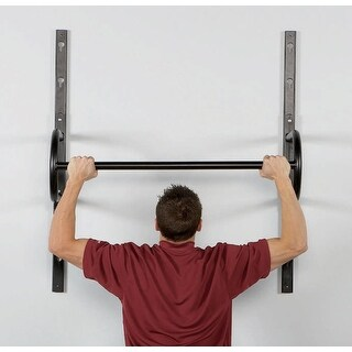 "40"" Adjustable Wall Mount Chin Up Bar"