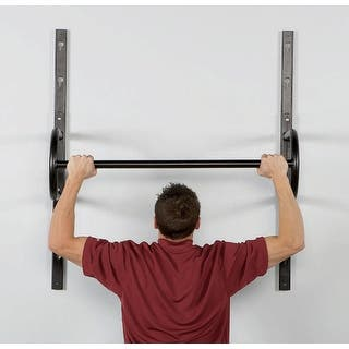 """40"""" Adjustable Wall Mount Chin Up Bar