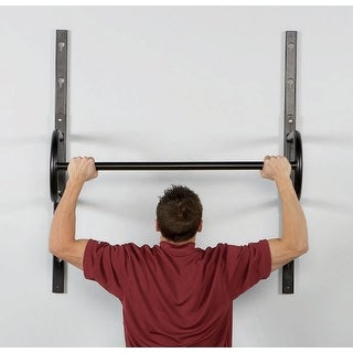 "40"" Adjustable Wall Mount Chin Up Bar"