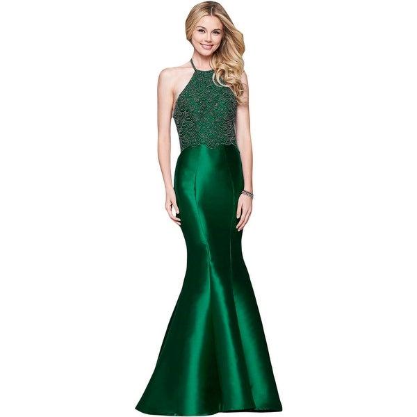 59d4edc4d4 Shop Faviana Womens Evening Dress Prom Mikado - Free Shipping Today ...