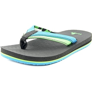 Sanuk Rootbeer Cozy Light Youth Open Toe Synthetic Multi Color Thong Sandal