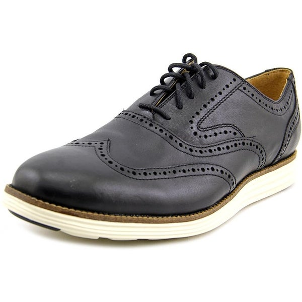 Cole Haan Original Grand Wing II Round Toe Leather Oxford