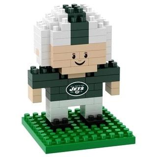New York Jets 3D NFL BRXLZ Bricks Puzzle Player