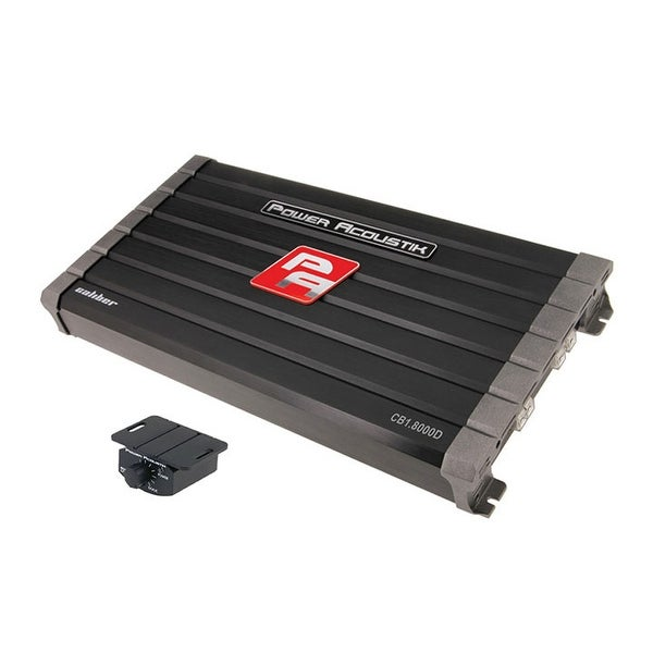 Power Acoustik Caliber Class D 8000W Amplifier