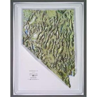 Raised Relief Map Nevada NCR Series