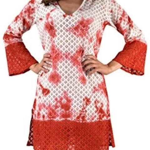 100% Cotton Womens Crochet Lace Tunics Summer Cover Ups Beach Wear