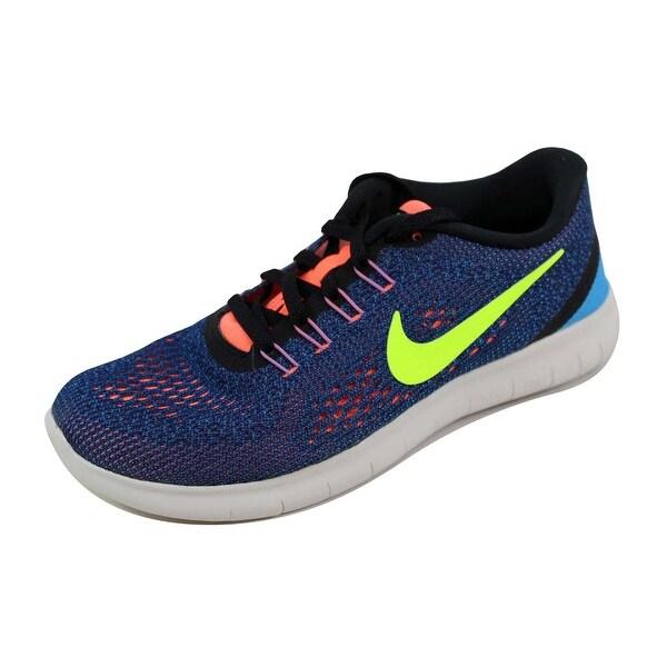 Nike Women's Free RN Black/White-Cool Grey 831509-501 Size 6