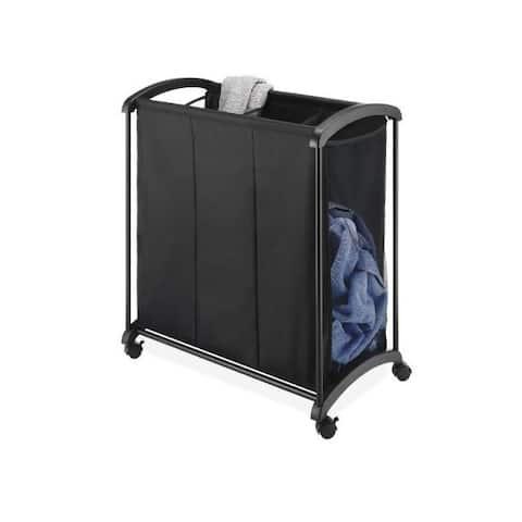 Whitmor 6396-4555 3 section laundry sorter