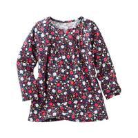 OshKosh B'gosh Little Girls' TLC Floral Pin-Tuck Tunic, 2-Toddler