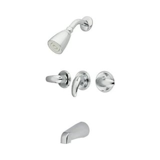 Elements Of Design EB623.LL Tub and Shower Package with Single Function Shower Head - Rough-In Included