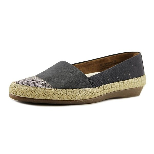 Aerosoles Trend Report Women Round Toe Canvas Black Loafer