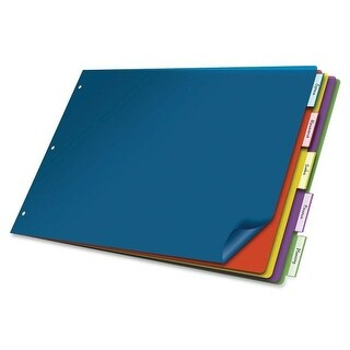 Cardinal 11x17 Poly Insertable Dividers