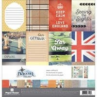 """England - Paper House Paper Crafting Kit 12""""X12"""""""