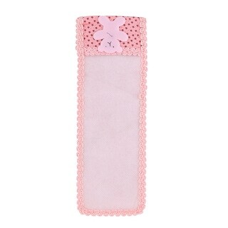Family Appliance Cotton Blends Bear Decor Remote Control Pouch Cover Protector