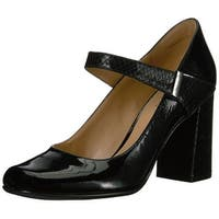 Naturalizer Womens Reva Closed Toe Ankle Strap Mary Jane Pumps