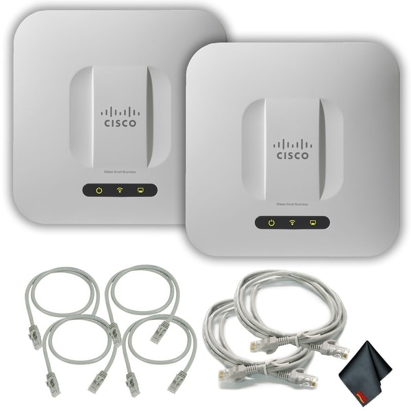 CiscoWAP551 High-Performance Wireless-N-Access Pointwith Extra Cat5 Cables (2-Pack)