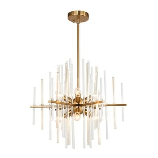 Link to Woodbridge Lighting 20116 Spires 6-light Chandelier Similar Items in Chandeliers