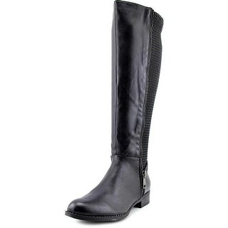 Steve Madden Saami   Round Toe Synthetic  Knee High Boot