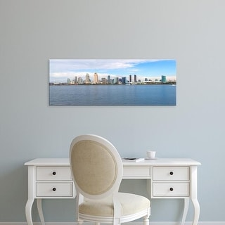 Easy Art Prints Panoramic Image 'Buildings at the waterfront, San Diego, San Diego County, California, USA' Canvas Art