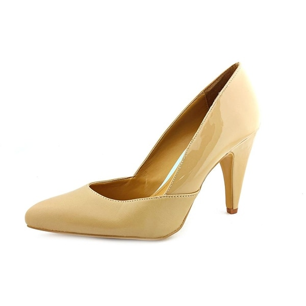 Cynthia Rowley Aspen Women N/S Pointed Toe Leather Nude Heels