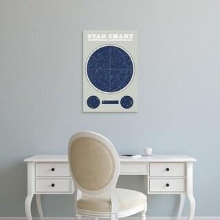 Easy Art Prints Sue Schlabach's 'Northern Star Chart' Premium Canvas Art