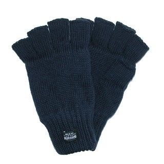 Dorfman Pacific Men's Fingerless Ragwool Gloves