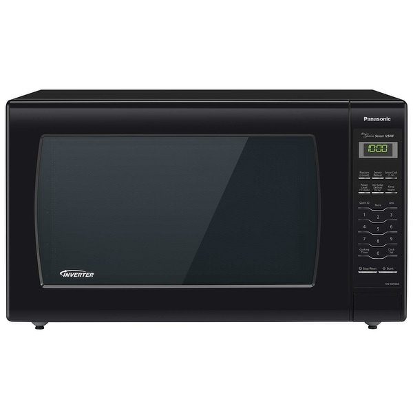 Shop Panasonic Nn Sn936b 2 2 Cu Ft Countertop Microwave