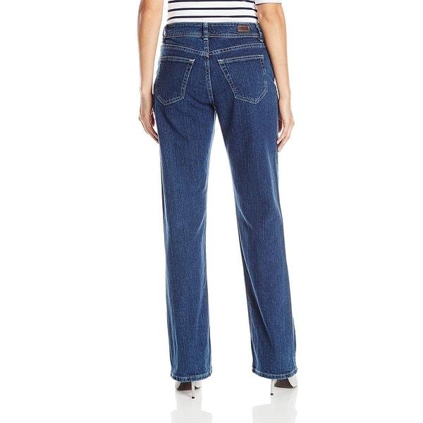 Lee Riders Women/'s Irregular Plus Indigo Relaxed Fit Straight Leg Denim Jeans