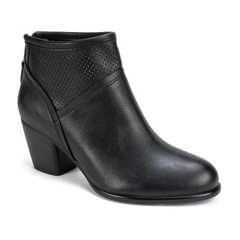 White Mountain Womens Galveston Closed Toe Ankle Fashion Boots