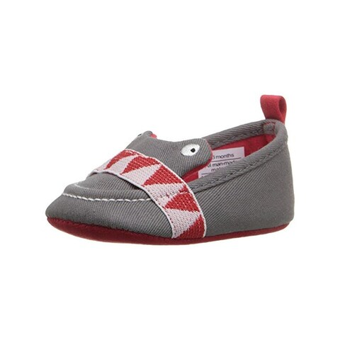 Rosie Pope Kids Footwear I See You Crib Shoes Infant Boys Embroidered